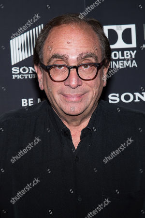 "Author R. L. Stine attends a special screening of ""Goosebumps"" at the AMC Empire 25, in New York"
