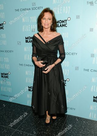 """Jacqueline Bissett attends a special screening of """"Miss You Already"""" hosted by The Cinema Society and Montblanc, in New York"""