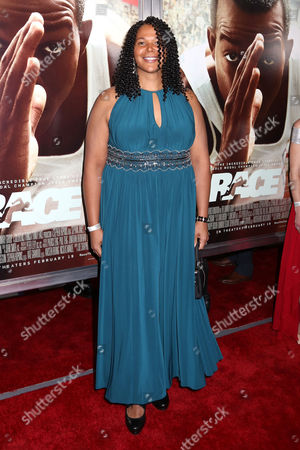 "Aretha Thurmond attends a special screening of Focus Features' ""Race"" at the Landmark Sunshine Cinema, in New York"