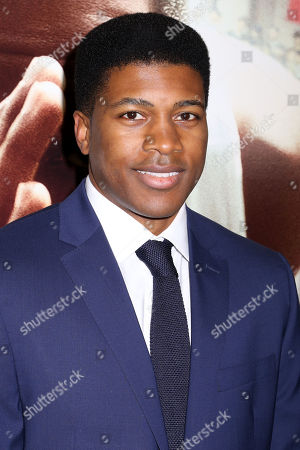 "Eli Goree attends a special screening of Focus Features' ""Race"" at the Landmark Sunshine Cinema, in New York"
