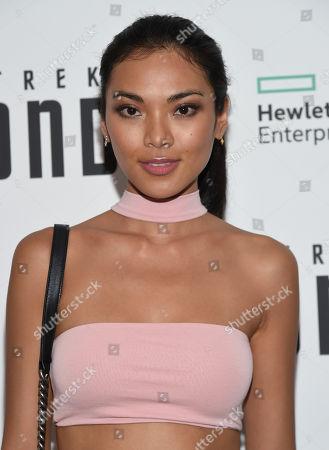 "Meki Saldana attends a special screening of ""Star Trek Beyond"" at the Crosby Street Hotel, in New York"