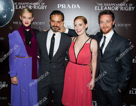 """Editorial image of NY Special Screening of """"The Disappearance Of Eleanor Rigby"""", New York, USA - 10 Sep 2014"""