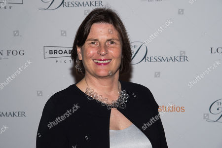 """Sue Maslin attends a screening of """"The Dressmaker"""" at Florence Gould Hall Theater, in New York"""