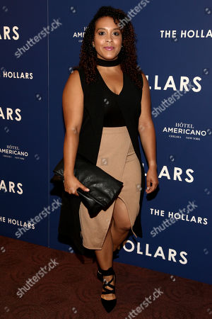 """Actress Miriam Morales attends a special screening of """"The Hollars"""" at Cinepolis Chelsea, in New York"""