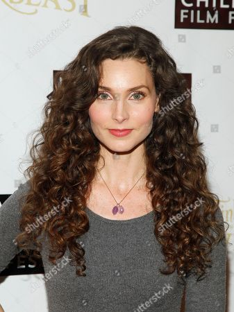 "Alicia Minshew attends a special screening of ""Tinker Bell and the Legend of the Neverbeast"" at the SVA Theatre, in New York"