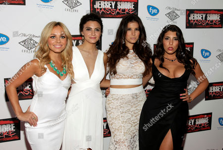 "Editorial image of NY World Premiere of ""Jersey Shore Massacre"", New York, USA - 19 Aug 2014"