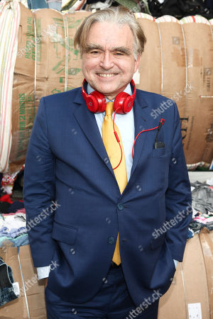 Stock Photo of George Whipple attends Heron Preston Presentation for DSNY, in New York