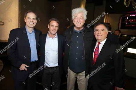 Open Road's Tom Ortenberg, Producer Kevin King Templeton, Executive Producer Avi Lerner and Planet Hollywood's Robert Earl seen at Open Road 'Homefront' Premiere, on in Las Vegas