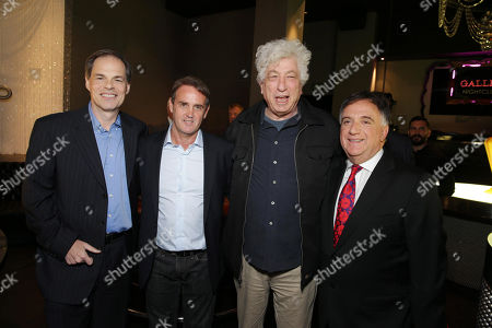 Stock Image of Open Road's Tom Ortenberg, Producer Kevin King Templeton, Executive Producer Avi Lerner and Planet Hollywood's Robert Earl seen at Open Road 'Homefront' Premiere, on in Las Vegas