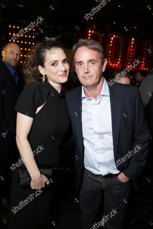 Stock Photo of Winona Ryder and Producer Kevin King Templeton seen at Open Road 'Homefront' Premiere, on in Las Vegas