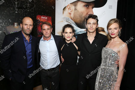 PREMIUM RATES APPLY Jason Statham, Producer Kevin King Templeton, Winona Ryder, James Franco and Kate Bosworth seen at Open Road 'Homefront' Premiere, on in Las Vegas