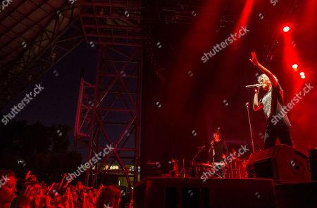 Editorial picture of Outcry Tour 2015 - , Atlanta, USA - 1 Aug 2015