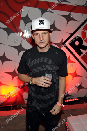 "Rob Dyrdek poses for a photo at PacSun and DC Shoes ""Golden State of Mind"" event held at Fantasy Factory on in Los Angeles"