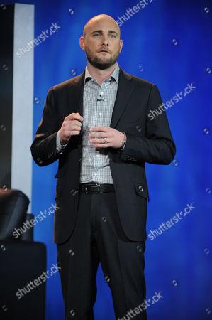 Tim Vanderhook seen at the International Consumer Electronics Show 2013,, Las Vegas, NV during the Panasonic Keynote presentation