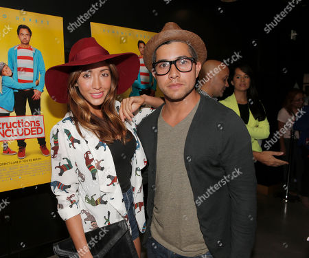 "Fernada Romero and Walter Perez attend the Pantelion Films' ""Instructions Not Included"" Los Angeles Premiere, on Thursday, August, 22, 2013 in Los Angeles"