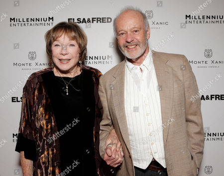 Shirley MacLaine and Director Michael Radford attend the premiere of 'Elsa & Fred' at the Sundance Cinema on in Los Angeles