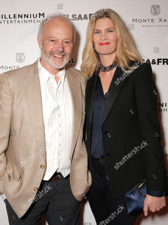 Director Michael Radford and wife Emma Tweed attend the premiere of 'Elsa & Fred' at the Sundance Cinema on in Los Angeles