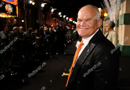 """Mark Hadlow arrives at the Los Angeles premiere of """"The Hobbit: The Battle Of The Five Armies"""" at the Dolby Theater on"""