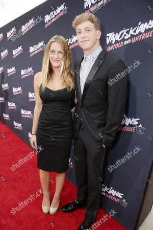 Destry Spielberg and Matt King attend the Los Angeles premiere of Awesomeness Film's JANOSKIANS: UNTOLD AND UNTRUE at Bruin Theatre, in Los Angeles, CA