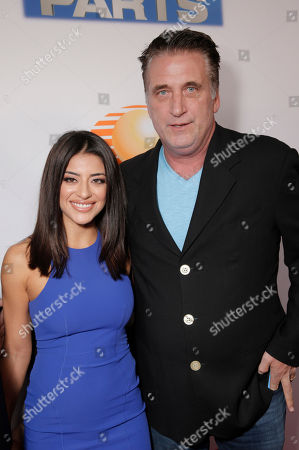 "Mira Leal and Billy Baldwin attend the Los Angeles Premiere of Pantelion Films' ""Spare Parts"" at Arclight Cinemas, in Los Angeles"