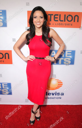 """Stock Picture of Cindy Vela attends the Los Angeles Premiere of Pantelion Films' """"Spare Parts"""" at Arclight Cinemas, in Los Angeles"""