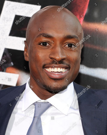"Actor Wole Parks attends the world premiere of ""Premium Rush"" at the Regal Union Square Theaters on in New York"