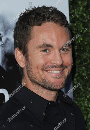 "James Harvey Ward arrives at the premiere screening of ""Low Winter Sun"" at the ArcLight Hollywood on in Los Angeles"