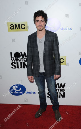 "Stock Picture of Ben Feldman arrives at the premiere screening of ""Low Winter Sun"" at the ArcLight Hollywood on in Los Angeles. (Photo by Katy Winn/Invision/AP)James Harvey Ward arrives at the premiere screening of ""Low Winter Sun"" at the ArcLight Hollywood on Thursday, July 25, 2013 in Los Angeles"