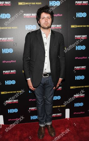 """Director Maxim Pozdorovkin attends a special screening of """"Pussy Riot: A Punk Prayer"""" hosted by HBO with The Cinema Society on in New York"""