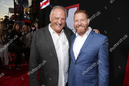 Bill Smitrovich and Relativity Media CEO Ryan Kavanaugh seen at The World Premiere of 'The November Man'on at the TCL Chinese Theatre in Los Angeles
