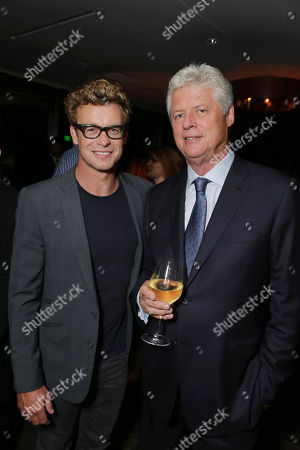 Stock Image of EXCLUSIVE Simon Baker and Director Roger Donaldson seen at The World Premiere of 'The November Man'on in Los Angeles