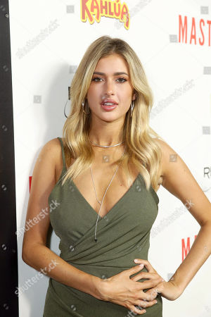 "Gemma Vence seen at Relativity Studios Presents ""Masterminds"" Los Angeles Premiere at TCL Chinese Theatre, in Hollywood"
