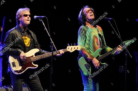 Richard Page and Todd Rundgren of Ringo Starr and his All Starr Band perform at the Broward Center for the Performing Arts on in Ft Lauderdale, Florida