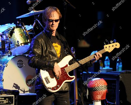 Richard Page of Ringo Starr and his All Starr Band performs at the Broward Center for the Performing Arts on in Ft Lauderdale, Florida