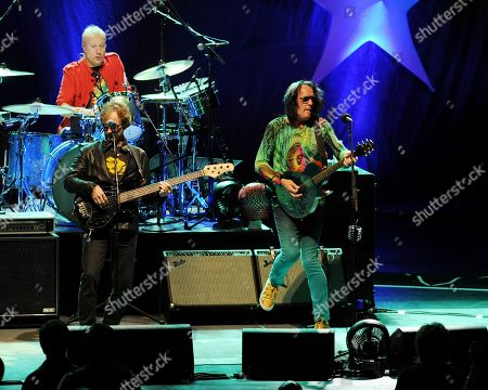 Gregg Bissonette and Todd Rundgren of Ringo Starr and his All Starr Band performs at the Broward Center for the Performing Arts on in Ft Lauderdale, Florida