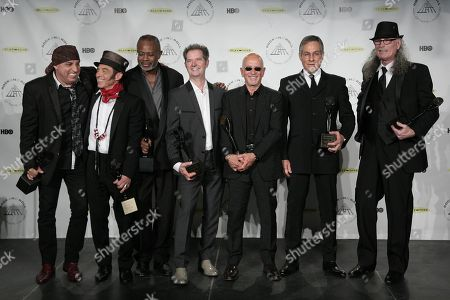 Editorial picture of Rock and Roll Hall of Fame 2014 Ceremony - Press Room, New York, USA - 10 Apr 2014
