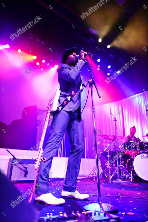 Roman Gianarthur performing as part of the Electric Lady Tour at The Tabernacle, in Atlanta