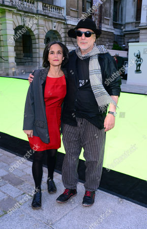 Stock Photo of Alma Arad and Ron Arad arrive at the Royal Academy of Art: Summer Exhibition Preview Party in London on