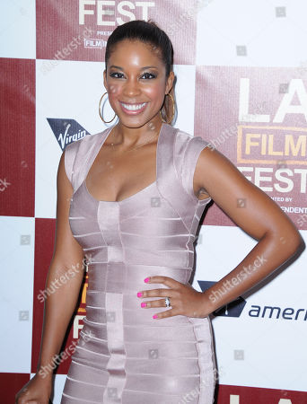 "Reagan Gomez-Preston arrives at the L.A. gala screening for ""Middle of Nowhere"" at Regal Cinemas L.A. Live on in Los Angeles"