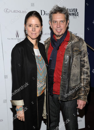 """Julie Taymor and Elliot Goldenthal attenda special screening of """"Silver Linings Playbook"""" hosted by Dior at Florence Gould Hall on in New York"""