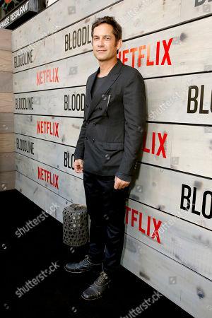 Enrique Murciano attends the Season 2 Premiere of the Netflix Original Series, BLOODLINE at Landmark Regent Theatre, in Los Angeles