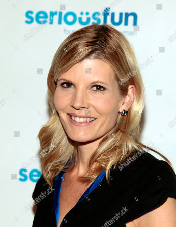 Television journalist Kate Snow attends the SeriousFun Children's Network Benefit Gala, in New York