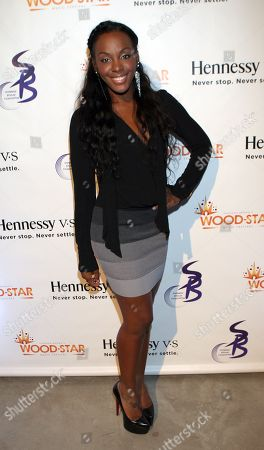 R&B Singer Dawn Richards attends Shannon Brown Wood-Star Foundation Dinner on Friday August, 18, 2012, at The Loft in Chicago, Illinois