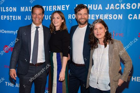 Josh Stamberg, from left, Ruth Wilson, Joshua Jackson and Maura Tierney attend a special screening of Showtime's 'The Affair' for ATAS and SAG voters, in New York