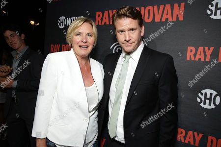 Editorial image of SHOWTIME and Time Warner Cableâ?™s 'Ray Donovan' Season 2 premiere, Malibu, USA - 9 Jul 2014