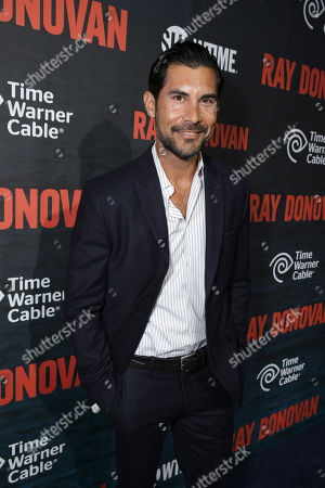 David DeSantos pictured at SHOWTIME and Time Warner Cableâ?™s Ray Donovan Season 2 premiere on Wednesday, July 9 at Nobu in Malibu, Calif