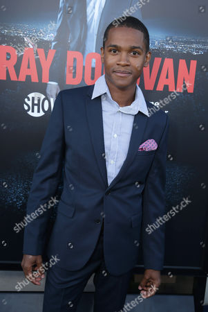 Octavius J. Johnson pictured at SHOWTIME and Time Warner Cable's 'Ray Donovan' Season 2 premiere on Wednesday, July 9 at Regal Malibu Twin Theater in Malibu, Calif