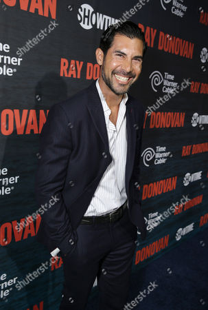 David DeSantos pictured at SHOWTIME and Time Warner Cable's Ray Donovan Season 2 premiere on Wednesday, July 9 at Nobu in Malibu, Calif