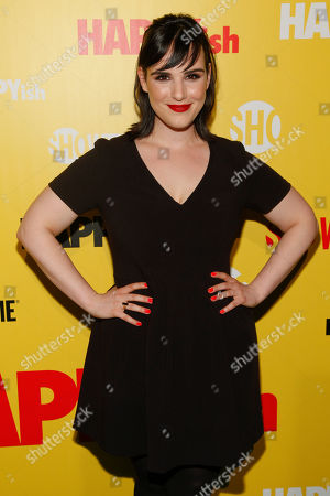 """Editorial picture of Showtime Series Premiere Of """"HAPPYish"""", New York, USA - 20 Apr 2015"""