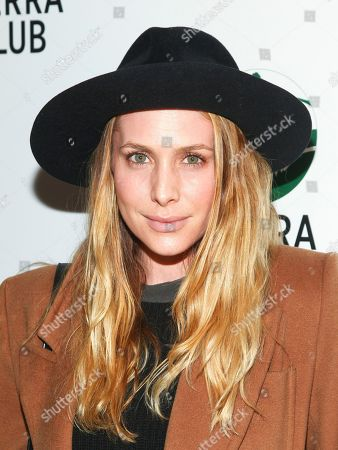 """Stock Photo of Casey LaBow attends Sierra Club's """"Act in Paris"""", a night of comedy and climate action, at The Heath at The McKittrick Hotel, in New York"""